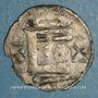 Monnaies Orléanais. Vicomté de Châteaudun. Denier anonyme (vers 1160-1180)