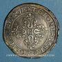 Monnaies Principauté d'Orange. Frédéric Henri de Nassau (1625-1647). Demi-franc 1641. Type V3