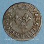 Monnaies Principauté d'Orange. Frédéric Henri de Nassau (1625-1647). Double tournois 1641