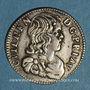 Monnaies Principauté d'Orange. Guillaume-Henri de Nassau (1650-1702). 1/12 écu 1659