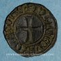 Monnaies Principauté d'Orange. Raymond V (1340-1393). Denier (?)