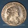 Monnaies Principauté de Dombes. Anne-Marie-Louise d'Orléans (1650-1693). 1/12 écu (luigino) 1665