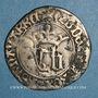 Monnaies Royaume de Navarre. Jean d'Aragon et Blanche (1425-1441). Blanc
