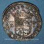 Monnaies Seigneurie de Béarn. Antoine de Bourbon et Jeanne d'Albret (1555-1562). Teston 1562