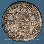 Monnaies Seigneurie de Béarn. Antoine de Bourbon et Jeanne d'Albret (1555-1562). Teston 1563