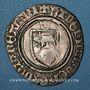 Monnaies Seigneurie de Béarn. Catherine (1483-1484). Blanc. Morlaàs