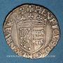 Monnaies Seigneurie de Béarn. Henri I d'Albret (1516-1555). Douzain à la croisette