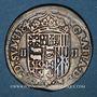 Monnaies Seigneurie de Béarn. Henri II (1572-1589). 1/4 écu 1584. Morlaàs
