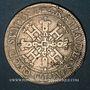 Monnaies Seigneurie de Béarn. Henri II (1572-1589).  Franc 1581. Morlaàs