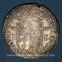 Monnaies Seigneurie de Béarn. Jeanne d'Albret (1562-1572). Teston 1566. Pau