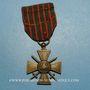 Monnaies Croix de guerre 1914-1918. 4e modèle 1914-1918. 4 citations
