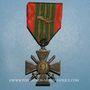 Monnaies Croix de Guerre (1939-1945). 1er modèle 1939. 1 fourragère