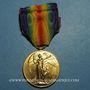 Monnaies Etats Unis. Médaille interalliée de la Victoire (1918) - World War I Victory Medal. Bronze doré