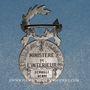 Monnaies Médaille d'Honneur de la Police française. 2e modèle. Argent (poinçon 1er titre)