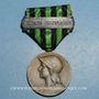 Monnaies Médaille de 1870-1871 (1911). 2e modèle. Avec barrette Engagé Volontaire (argent poinçonné).