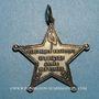 Monnaies Médaille de l'Armée des Vosges (4e Brigade). (1871). Argent. 46,42 x 45,01 mm. R ! R !