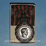 Monnaies Médaille de Sainte-Hélène (1857). Dans sa boîte d'origine en carton