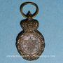 Monnaies Médaille de Sainte-Hélène (1857). Réduction. 18,90 x 31,26 mm