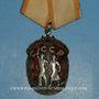 Monnaies Russie. Ordre de l'insigne honneur - Orden Szlavi. Argent et émaux rouges