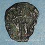 Monnaies Empire de Trébizonde. Alexis III Comnène (1349-1390). Petit bronze