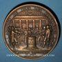 Monnaies Assemblée Nationale. 4 août 1789. Abandon des privilèges. Médaille bronze. Refrappe