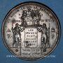 Monnaies Guerre de 1870-1871. 108 bataillons du général Cl. Thomas vont livrer bataille. Médaille.  48,2 mm
