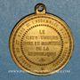 Monnaies Guerre de 1870-1871. A. Thiers. Médaille bronze