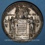 Monnaies Guerre de 1870-1871. Elections républicaines 8 février 1871. Médaille. 48 mm