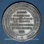 Monnaies Guerre de 1870-1871. Formation de la 5e légion de marche. Médaille étain. 45,8 mm
