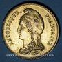 Monnaies Guerre de 1870-1871. Mort de Néverlée. Médaille étain bronzé. 45,7 mm
