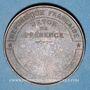 Monnaies Guerre de 1870-1871. Siège de Paris. Médaille cuivre rouge. 33,9 mm