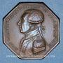 Monnaies La Fayette. Compagnie des Grenadiers Volontaires. Jeton bronze. 32,7 mm. Refrappe