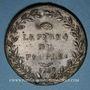 Monnaies Révolution 1789. Necker. Médaille en plomb