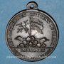 Monnaies Révolution de 1830. Médaille en hommage au général Lafayette. Bronze. 28,4 mm. Avec bélière