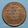 Monnaies Révolution de 1848. 14 mai - Fête du Champ de Mars. Médaille cuivre rouge