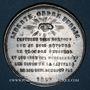 Monnaies Révolution de 1848. 29 et 30 janvier 1849 émeute reprimée par Changarnier. Médaille étain. 42 mm