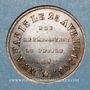 Monnaies Révolution de 1848. 4 juin. 1ère élection de Louis Napoléon Bonaparte. Médaille cuivre rouge