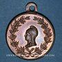 Monnaies Révolution de 1848. Club des Francs-Républicains. Médaille cuivre. 27 mm