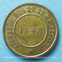 Monnaies Révolution de 1848. Commémoration des journées de février. Médaille cuivre jaune. 24,7 mm