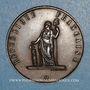 Monnaies Révolution de 1848. Commémoration des journées de février. Médaille cuivre rouge. 33,79 mm