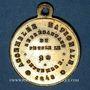 Monnaies Révolution de 1848. Elections du département de la Seine. Médaille cuivre jaune. 24 mm