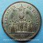Monnaies Révolution de 1848. Fête de la Concorde. Médaille cuivre blanchi. 27,8 mm