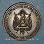Monnaies Révolution de 1848. Fraternisation des gardes nationales. Médaille cuivre. 33,3 mm