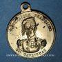 Monnaies Révolution de 1848. Le général Cavaignac. Médaille cuivre jaune. 23,6 mm