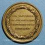 Monnaies Révolution de 1848. Lyon. Décembre 1848. Louis Napoléon Bonaparte. Cuivre jaune 27,9 mm
