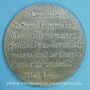 Monnaies Révolution de 1848. Médailles politiques. Médaille étain. 48 mm