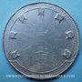 Monnaies Révolution de 1848. Médailles politiques. Médaille étain. 58 mm