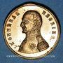 Monnaies Révolution de 1848. Mort du général Négrier. Médaille cuivre bronzé. 24 mm