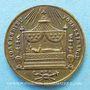 Monnaies Révolution de 1848. Mort Mgr Affre, archevêque. Médaille cuivre argenté. 23 mm