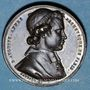 Monnaies Révolution de 1848. Mort Mgr Affre, archevêque. Médaille cuivre rouge. 32 mm